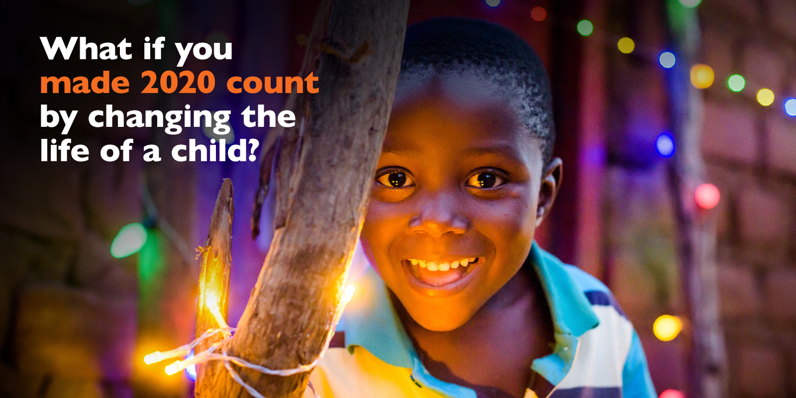 Make 2020 count when you sponsor a child this Christmas with World Vision