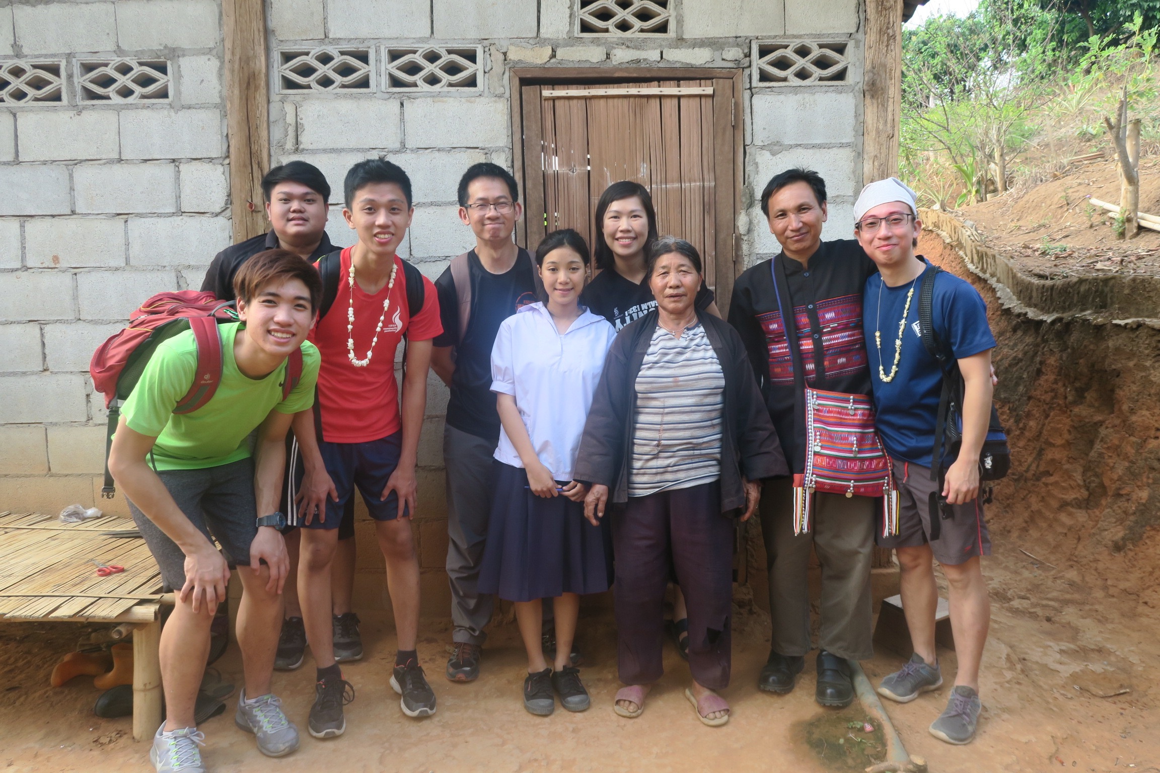 An inspiring family in the Akha community.