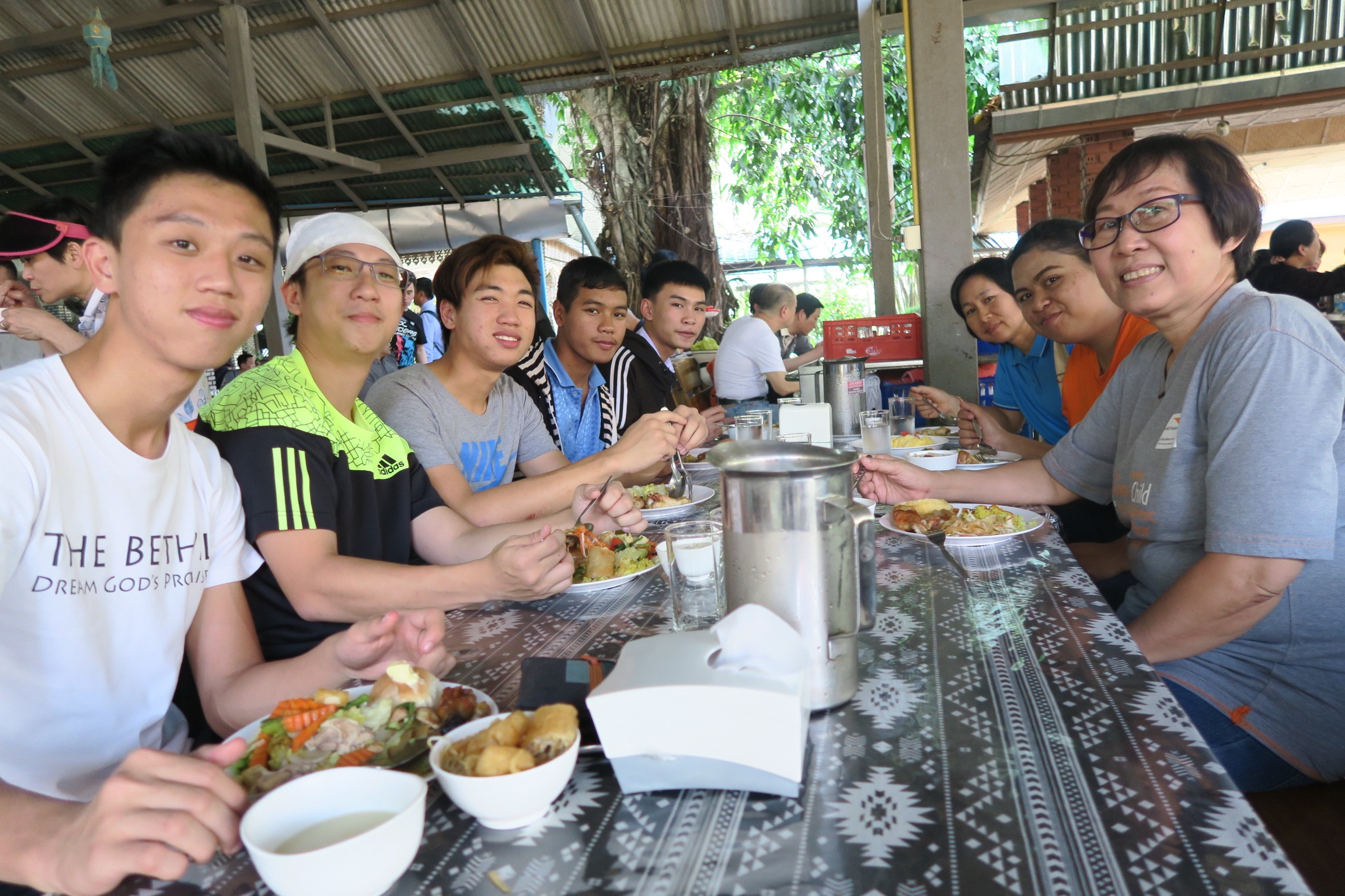 Visits to churches in Mae Taeng