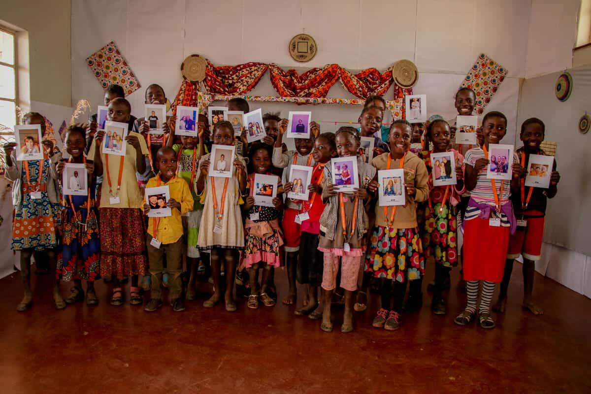 Zambian Children that recently took part in Chosen