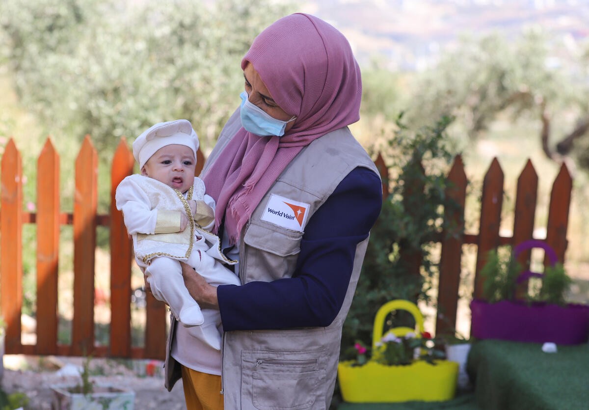 World Vision partners with and serves children and communities regardless of race or religion