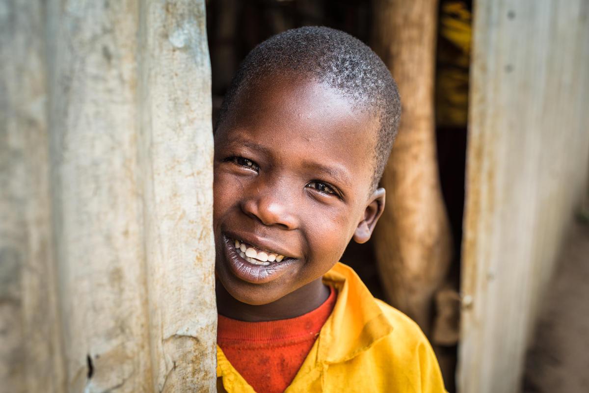 World Vision sponsored child, Cheru