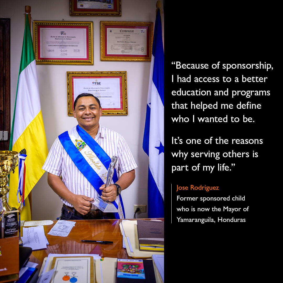 The impact of Child Sponsorship in Jose's Life