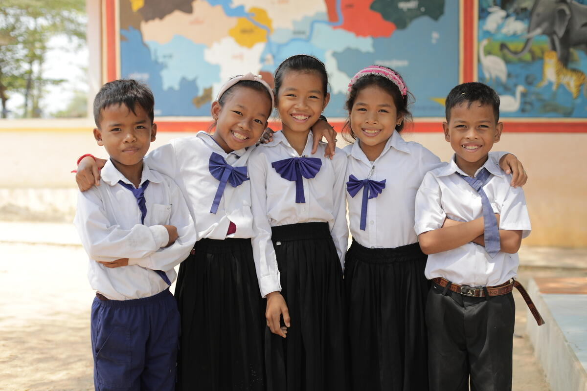 World Vision Child Benficiaries