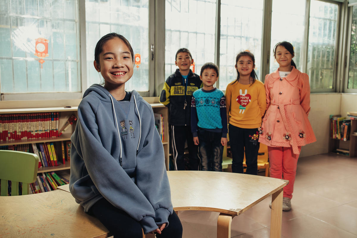 Children in China that have benefited from World Vision